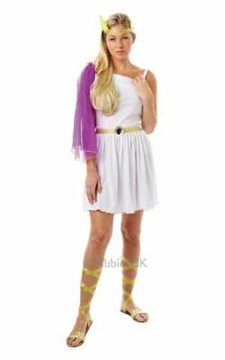 Greek Roman Goddess Toga Womens Fancy Dress Costume Outfit Ladies Adult
