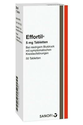 Effortil® 5 mg Tabletten 50 St PZN: 1327387