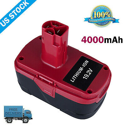 For Craftsman 19.2V C3 Battery XCP 4.0 Lithium 4.0Ah 9-35709 5166 PP2011 PP2030