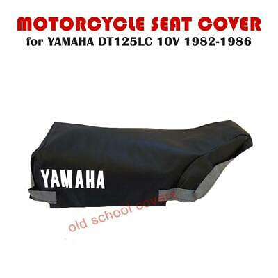 Yamaha Dt125Lc Dt 125 Lc Dt125 Lc Mk1 10V Black Seat Cover 1982-1986