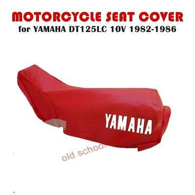 Yamaha Dt125Lc Dt 125 Lc Dt125 Lc Mk1 10V Red Seat Cover 1982-1986