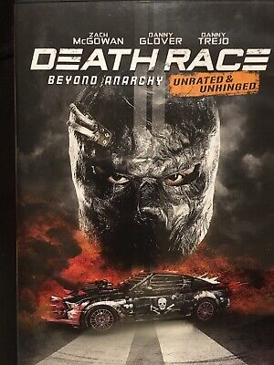 DEATH RACE: Beyond Anarchy Unrated & Unhinged (DVD 2018)