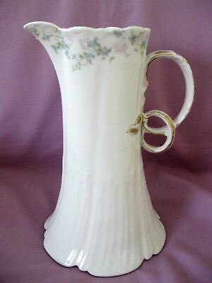 Gda Ch Field Haviland Limoges France Buttercup China Pitcher, Circa 1900