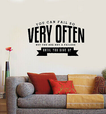 Wall Decal Windows Wise Famous Phrase Inspiring Vinyl Sticker ed969