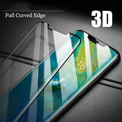 6D Full Cover Tempered Glass Film Protector for Huawei P30 Pro/Mate20 Pro Screen