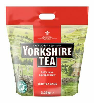 Yorkshire Tea Taylors of Harrogate 1040 One Cup Tea Bags 3.25kg Catering Teabags