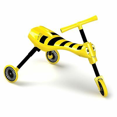 Mookie Scuttlebug Bumble Ride On Walking Tricycle With Foldable Design Kid Trike