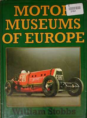 , Motor Museums of Europe, Hardcover, Very Good Book