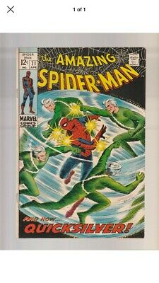 Amazing Spiderman And Now Quicksilver Issue 71