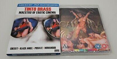 CALIGULA UK IMPORT Cheeky Black Angel Private Monamour BLU-RAY Tinto Brass LOT