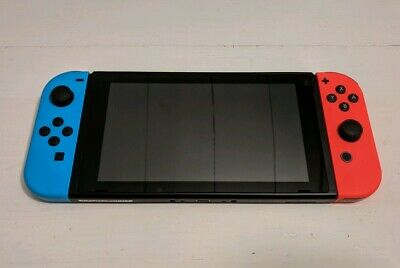 Nintendo Switch 32GB Console (Neon Joy-Cons) - No Charger / No Dock
