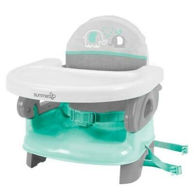 Summer Infant Booster Seat  Deluxe Comfort Folding Teal