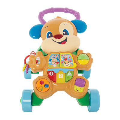 Fisher-price Frc79 Laugh And Smart Stages Learn Toy With Puppy Walker, - Fisher