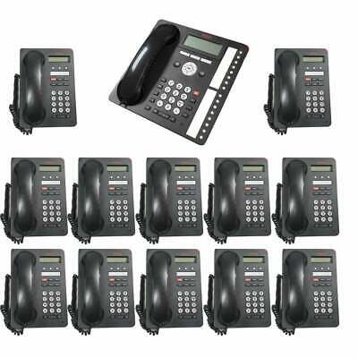 Avaya 1403 Business Phone Set - 12 Desk Phones & 1 Reception Phone
