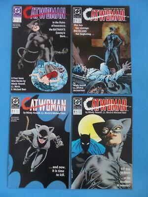 Catwoman 1-4 Set 1989 Fresh High Grade! Nm