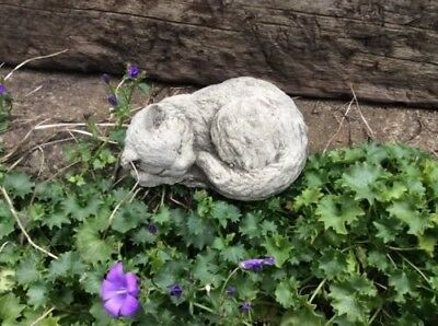 stone kitten cat pet garden ornament memorial pet loss