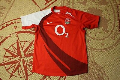 93097ab46062 ENGLAND NATIONAL TEAM 2007 2008 RUGBY JERSEY shirt MAGLIA NIKE ORIGINAL  SIZE M