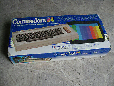 Commodore C 64 Computer OVP guter Zustand