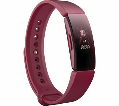 FITBIT Inspire Fitness Tracker - Sangria, Universal - Currys
