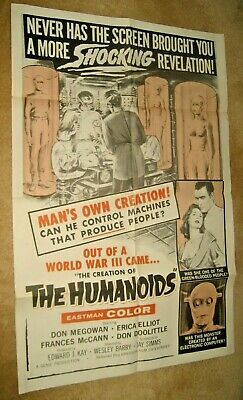 CREATION OF THE  HUMANOIDS '62 Sci fi cult fave