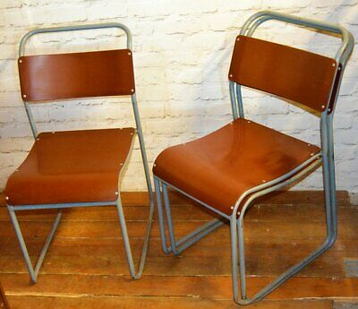 22 available blue stacking vintage chairs antique dining kitchen industrial rest