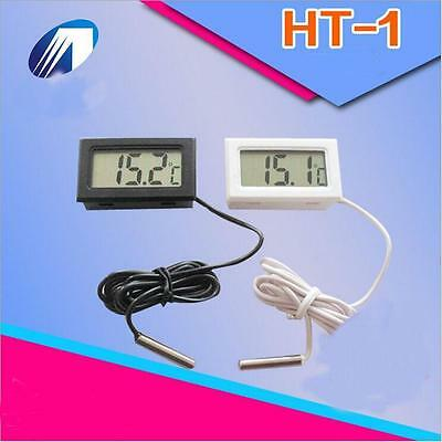 Digital Led Display Thermometer Fridge Temperature Gauge Meter Monitor GFほみ