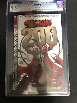 Spawn #200 (2011) Cgc 9.8 Cover By Todd Mcfarlane