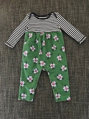 b0726887f5e1 Tea Collection Baby Girls One Piece Long Sleeve Pant Romper Outfit-Sz 6-