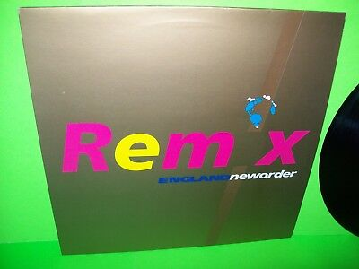 """New Order – World In Motion Remix Vinyl 12"""" Record Electronic Synth-Pop Factory"""