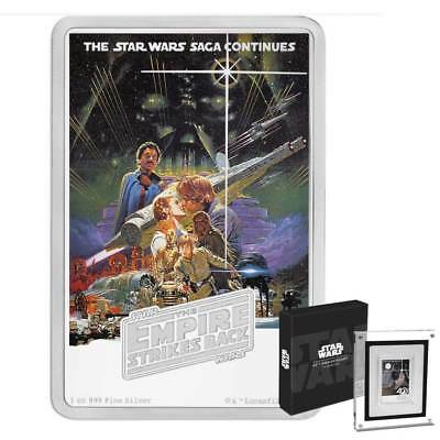 2017 Niue Star Wars Poster Collection - The Empire Strikes Back 1oz silver coin