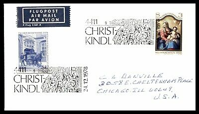 Israel FDC 1955 Christmas Mary and Jesus First Day Cover