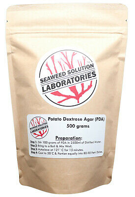 Dehydrated Potato Dextrose Agar Powder (PDA) 500 grams