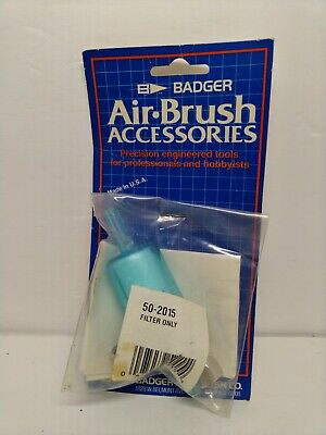 50-2015 Badger Airbrush Spares Filter Only Use With Model: 50-2015 New In Packet