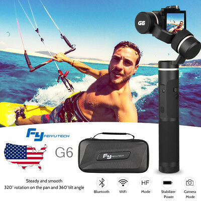 Feiyu G6 3-Axis Wifi Gimbal Stabilizer for GoPro Hero 7 6 5 4 Action Camera
