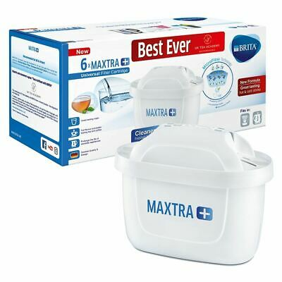 6 Pack Replacement Water Jug Filter Cartridges Refills For Brita Maxtra + Plus