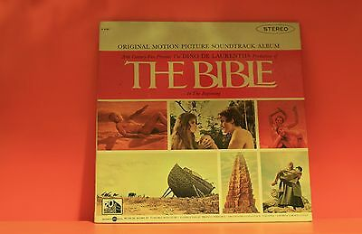 Bible - Toshiro Mayuzumi - Soundtrack - 20Th Century - Ex Lp Vinyl Record -V