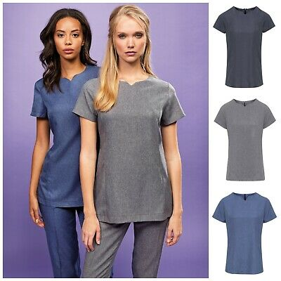 Spa Beauty Tunic Top Salon Beautician Nail Massage Therapist Hairdresser Uniform