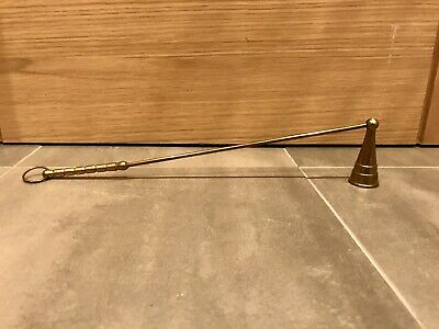 Antique Candle Snuffer Snuff Vintage Church