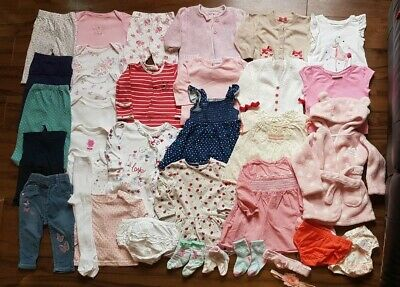 *F*A*B*Baby girl clothes bundle 3-6 months * dresses * tops * leggings * jeans*