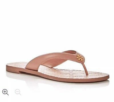 "66ec7586f0d4 TORY BURCH RUBBER Thong Flip Flop Sandals Sz 6 1 2"" -  24.99"