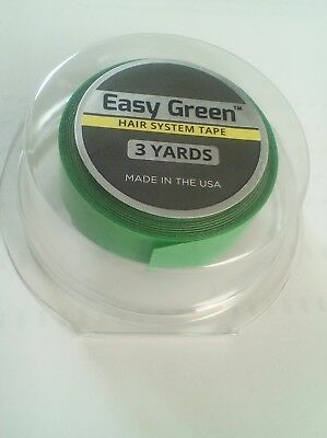 "Walker Easy Green Roll Tape Lace wig & toupee Hairpiece Tape (1/2"" x 3 Yards)"