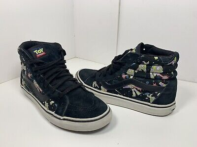 178796f793 Vans Disney Toy Story Sk8-Hi Pixar Buzz Lightyear Size Mens 8 Womens 9.5  Rare