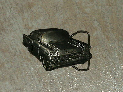 Vintage '57 Chevy Belt Buckle  VERY NICE