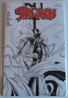 Spawn #286 Sketch Variant cover 1 NM/NM+ McFarlane Alexander First Print 2018