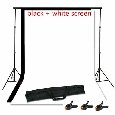 Adjustable Photography Photo Background Backdrop Support Stand Kit 10ft x 5ft BT