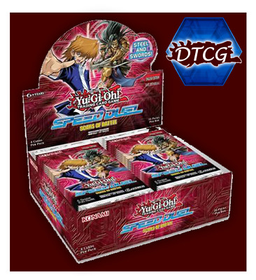 Sealed Yu-Gi-Oh! Scars of Battle Booster Box Free & Fast Shipping