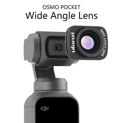 Genuine Waterproof Wide-angle Lens For DJI OSMO POCKET Handheld Camera Antishake