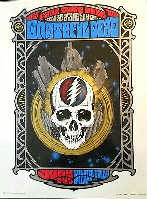 Lot Detail - Grateful Dead Fare Thee Well Poster From