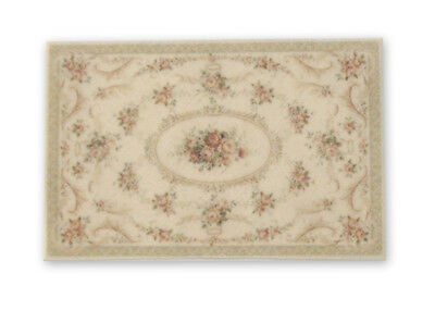 """0002136 1:12 or 1/"""" Scale Dollhouse Miniature Area Rug approximately 6/"""" x 9/"""""""