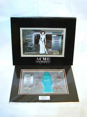 Star Wars Acme Archives Darth Sidious Or Princess Leia Character Key Sdcc New